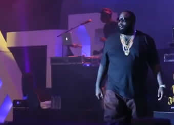 Rick Ross at Summer Jam Eko Hotel Lagos