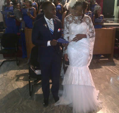 Teju BabyFace's White Wedding