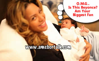 Beyonce and Ivy Blue