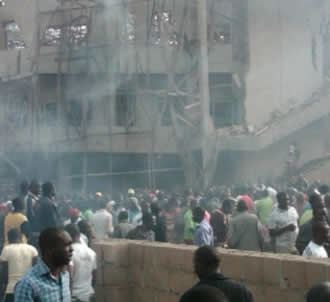 Church of Christ in Nigeria Bombing