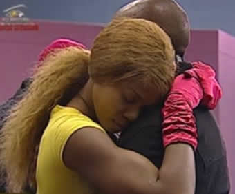 Goldie and Prezzo in BigBrother House