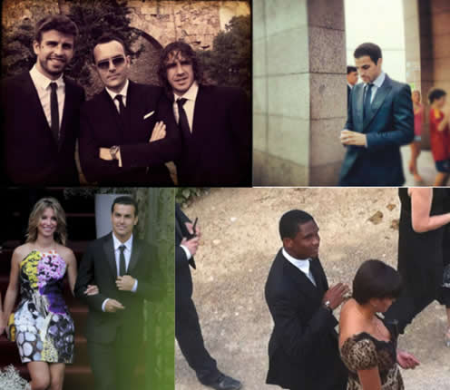 Iniesta's wedding photos