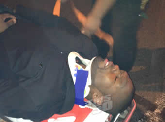 50 Cent in Car Accident
