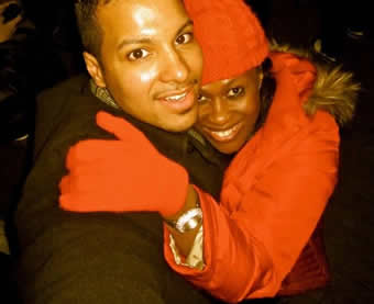 Uche Jombo and Her Husband