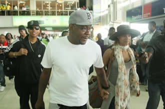 Bobby Brown In Lagos