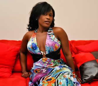 Actress Uche Jombo