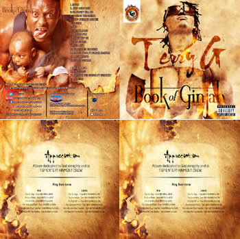 Terry G's Album Cover - Book of Ginjah