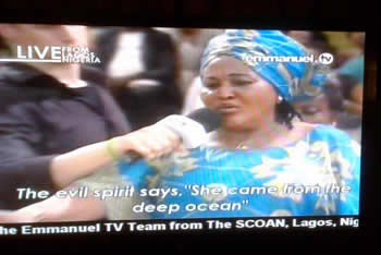 Nollywood Actress Confess on Being A Witch To TB Joshua
