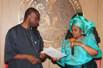 Rotimi Amaechi and Patience Jonathan