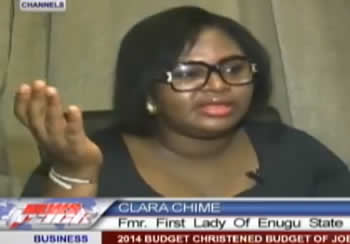 Enugu State First Lady Clara Chime