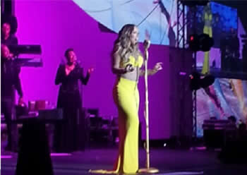 Mariah Carey Performing In Lagos