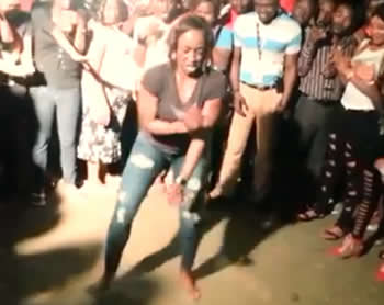 Kate Henshaw Dancing Skelewu