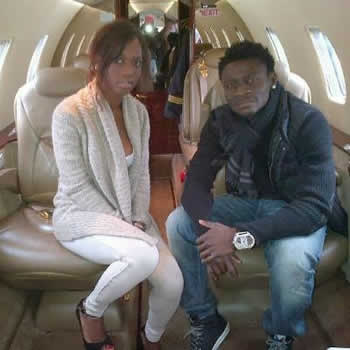 Balotelli's Sister and Obafemi Martins