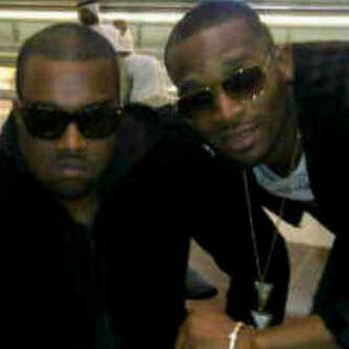 Kanye West and D Banj