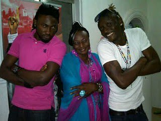 Terry G and his Mom